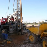 BOREHOLE AT BRAINTREE ESSEX