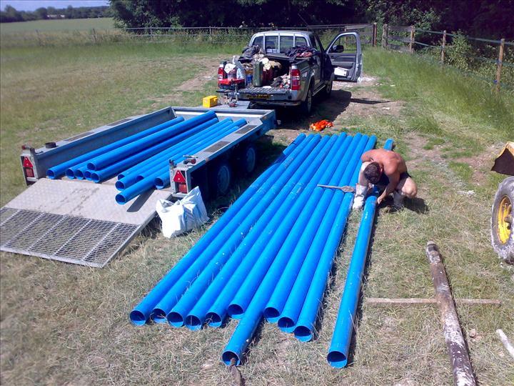 PREPARING-PVC-WELL-LINER